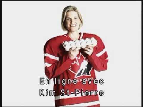 Hockey : Entrevue avec Kim St-Pierre.