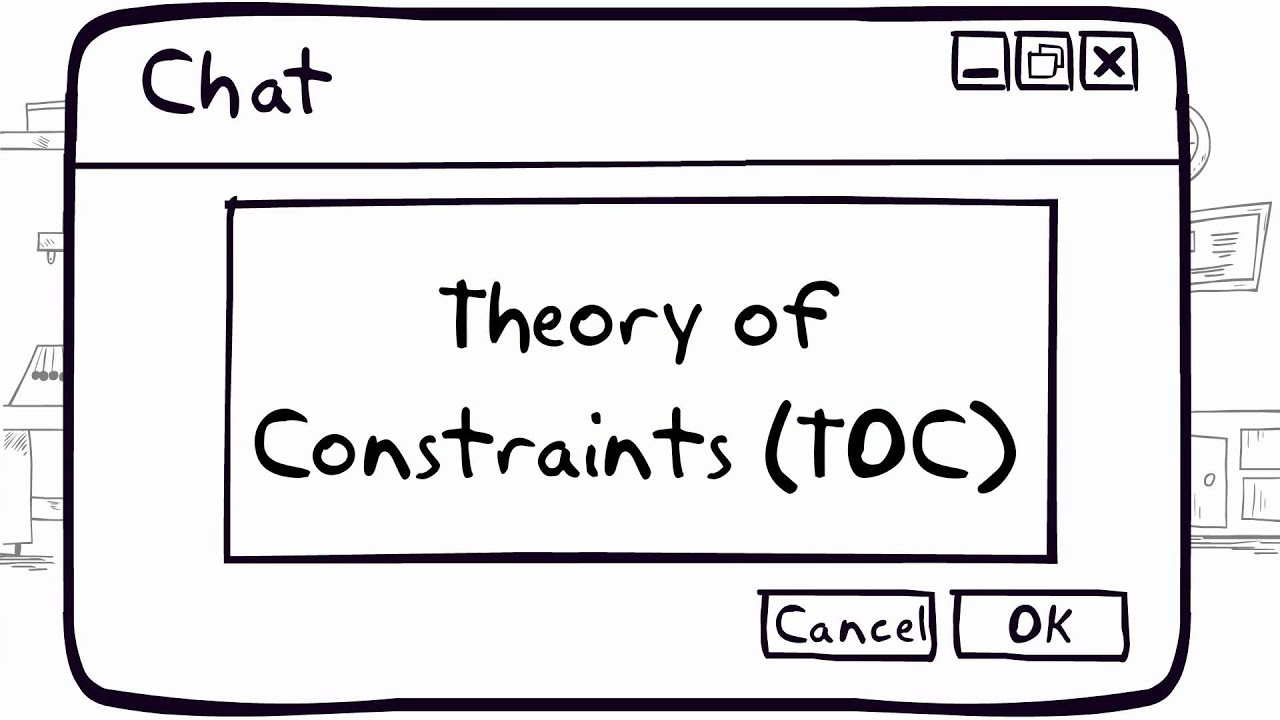 theory of constraints We use your linkedin profile and activity data to personalize ads and to show you more relevant ads you can change your ad preferences anytime.
