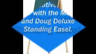 Www.batki.com.ua - Мольберт - Melissa & Doug - Deluxe Standing Easel.flv