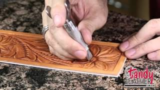 Download lagu Learning Leathercraft with Jim Linnell Lesson 8 Decorative Cuts MP3