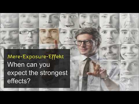 Mere Exposure Effect from YouTube · Duration:  2 minutes 50 seconds