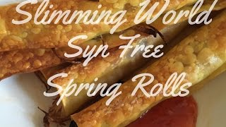 Slimming World Syn Free Spring Rolls | Make It Monday's