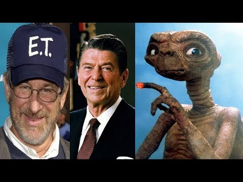 """REAGAN: The existence of aliens is """"absolutely true"""". Spielberg confirms Reagan's comment about ETs"""