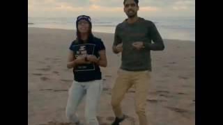 رقص عمر رجاء على اغنية saree ke fall sa😘