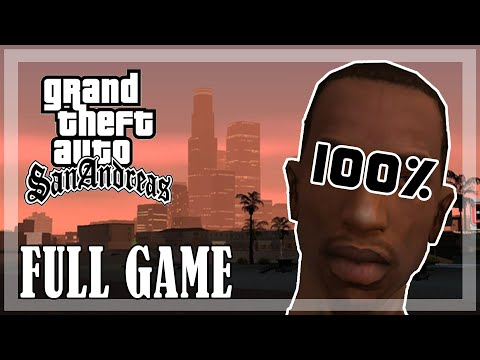 GTA San Andreas -  100% Full game, All missions [PC,1080p, 60fps]