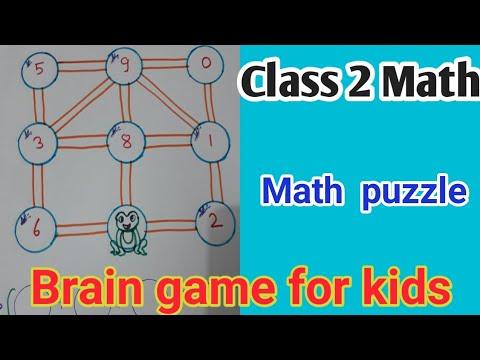 Math puzzle   class 2 syllabus  brain game for kids