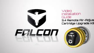 Falcon Shocks: 3.4 Remote Air Adjust Cartridge Upgrade Kit