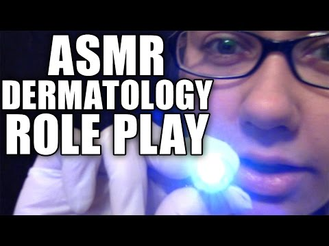 ASMR Dermatologist Role Play, Soft Spoken Acne Treatment Roleplay