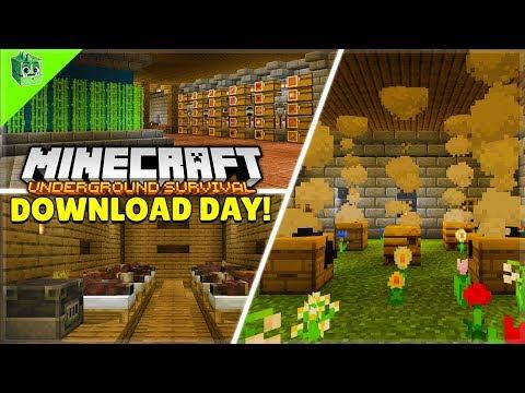 Download My Survival World!! - Minecraft Underground Survival (20)