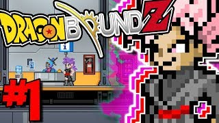 A BRAND NEW MODDED ADVENTURE, WITH A SAIYAN! | Dragon Bound Z (Starbound Anime Modpack) - Episode 1