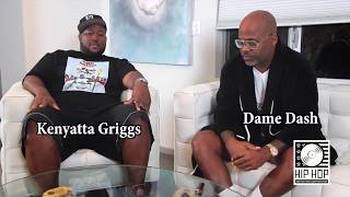 "NEWFACE MAGAZINE LV MEDIA FEATURING: Kenyatta Griggs & Damon Dash ""I Speak Fluent Boss"""