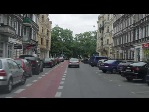 Driving to The Center (Szczecin, Poland) - option 1