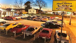 American Classic Muscle Car Lot Walk Around Maple Motors 11-28-19