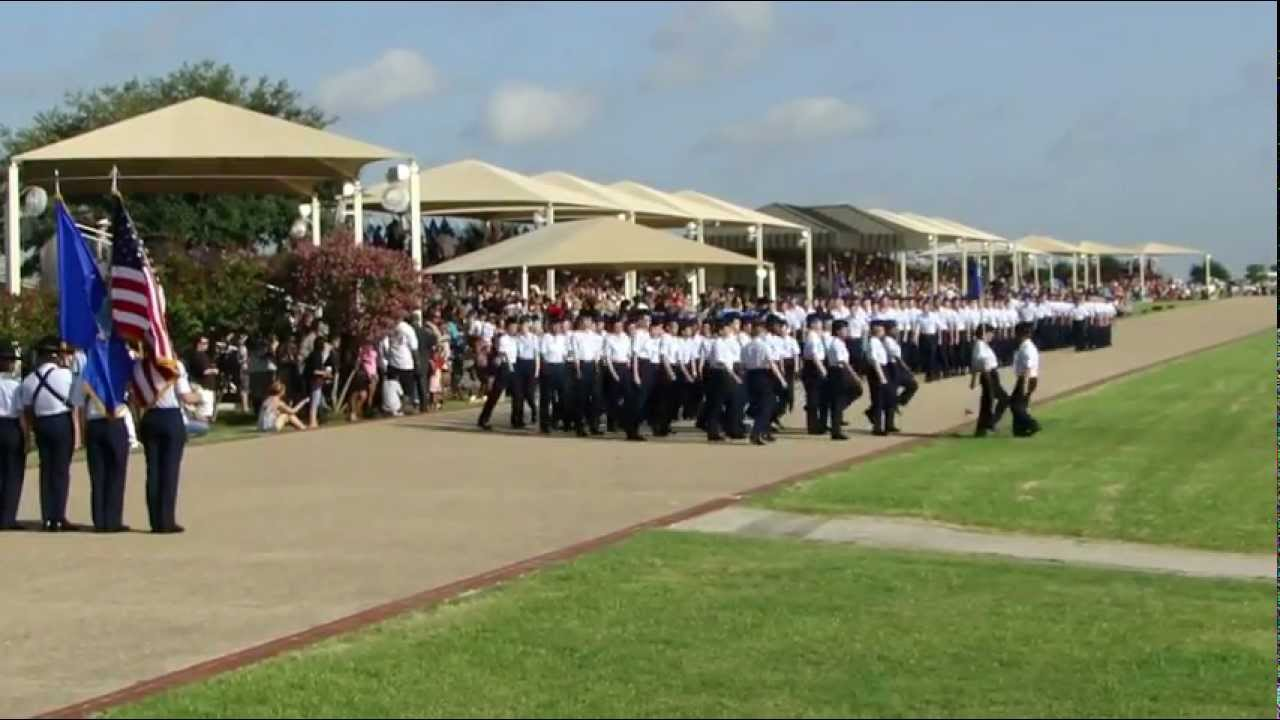 Air Force Graduation >> Basic Miitary Training Graduation Parade at Lackland Air Force Base on August 3rd, 2012 - YouTube