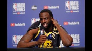 Draymond Green - Full Press Conference   Game 2   Warriors vs Raptors