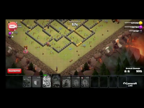 Clash Of Clans -:D  AK Simulator Clan Game