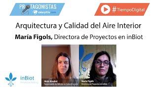 ¿Cómo medir la Calidad del Aire Interior? | María Figols, Directora de Proyectos en inBiot