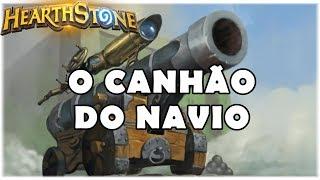 HEARTHSTONE - O CANHÃO DO NAVIO! (WILD PIRATE WARRIOR)