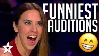 JUDGES Can't Stop Laughing! | FUNNIEST Auditions On Asia's ...