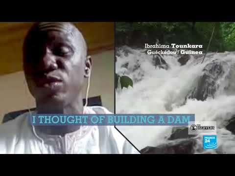 The man who built a dam to power this entire community in Guinea