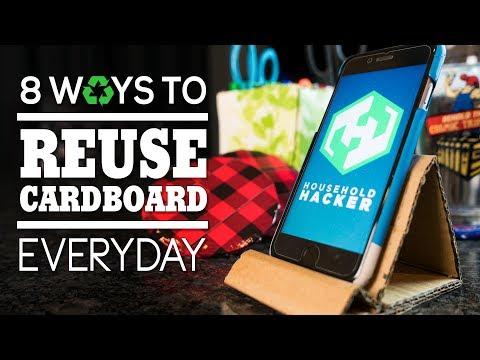 8 Smart Ways You Can Reuse Cardboard