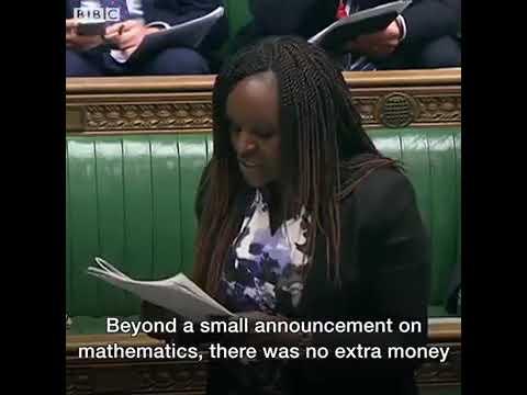 MP Fiona Onasanya slips Big Shaq's Man's Not Hot lyrics into Commons