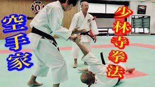【少林寺拳法の技がすぐに出来てしまう空手家】その理由を直撃!Why  can this Karate-ka use techniques of Shorinjikempo?