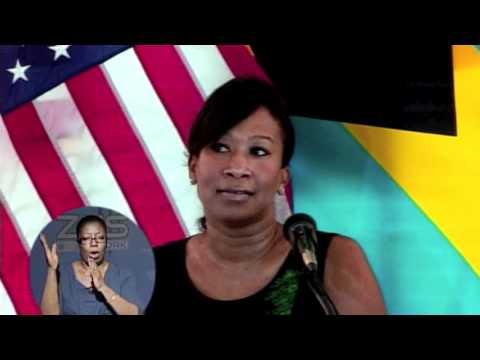 Nicole avant u s ambassador press farewell