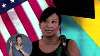 NICOLE AVANT, U.S. AMBASSADOR ~ PRESS FAREWELL