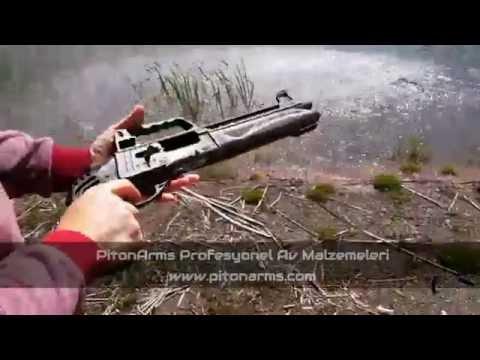 Siyah Otomatik Av Tüfeği Testi   Piton arms