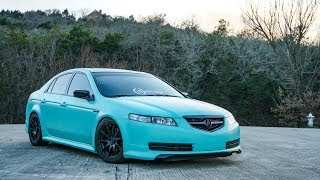 Lauren's Tiffany Blue Acura TL
