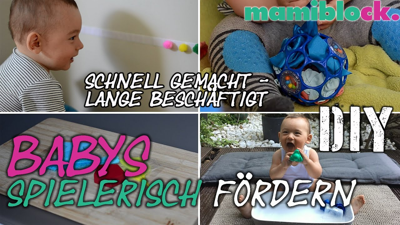 diy 4 spielzeuge f r babys baby toys mamiblock der mami blog youtube. Black Bedroom Furniture Sets. Home Design Ideas