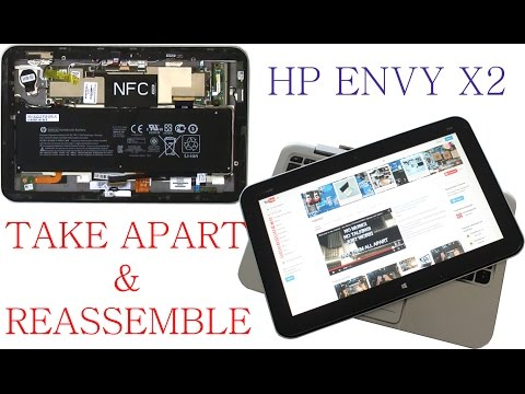 HP ENVY X2 Take Apart and Reassemble