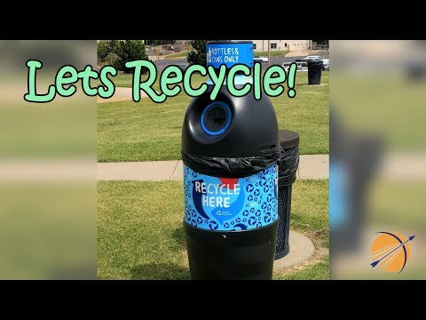 New Recycling Bins in Broken Arrow