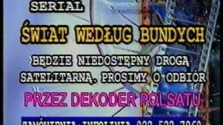 """Plansza """"serial niedostępny drogą satelitarną"""" Polsat"""