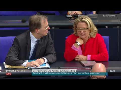 Klimapaket im Bundestag