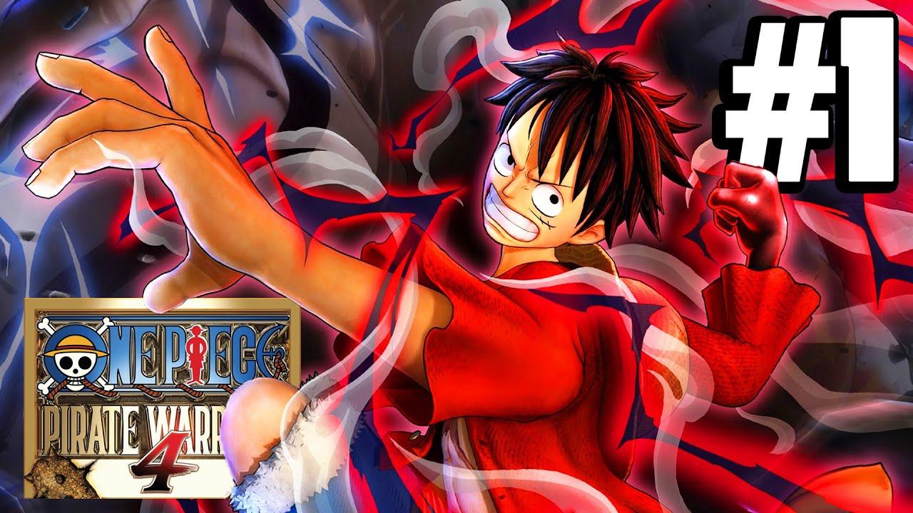 One Piece Pirate Warriors 4 : Part 1 ฉันจะเป็นราชาโจรสลัดให้ได้