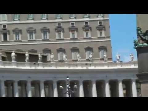 Vaticano Plaza y Basilica de San Pedro, post Audiencia con Francisco !!