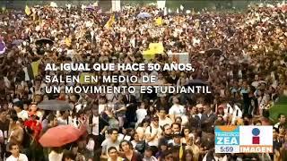 La marcha del silencio ¿Coincidencia entre 1968 y 2018? | Noticias con Francisco Zea