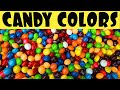 Teach Kids Colors with Colorful Skittles Candy! Great Color Learning Tool for Babies!