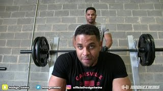 Chest & Triceps Training Vlog @hodgetwins