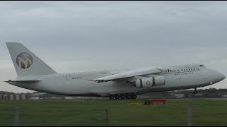 Winter Plane Spotting at London Stansted Airport | A124, E-4B & More