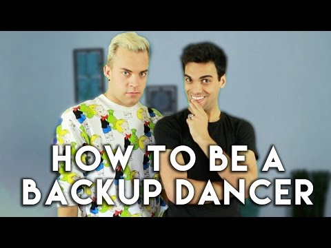 How to Be a Backup Dancer (Ft. Jamie Bennett)