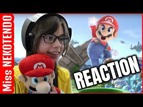 Nintendo E3 2018 (Super Smash Bros. Ultimate, Mario Party & more!) REACTION