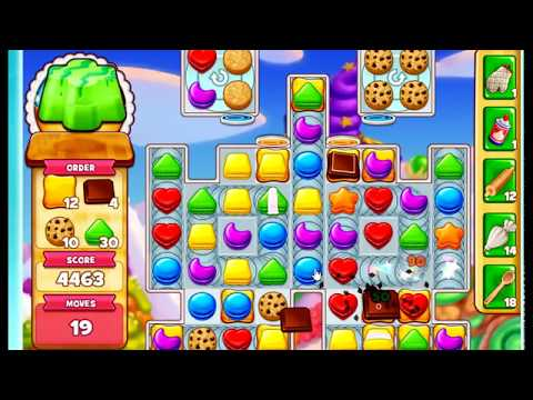 how to pass cookie jam level 1612