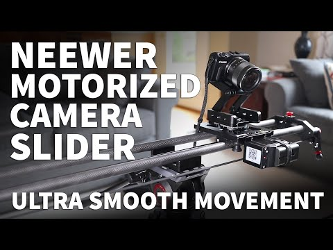 Neewer Motorized Slider Review With Setup Instructions - How To Use Neewer Motorized Camera Slider