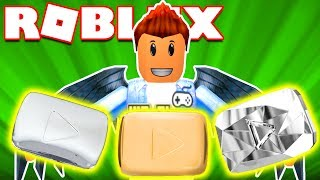 Roblox | The PLAY BUTTON COLLECTION YOUTUBE-Youtube Tycoon | Kia Breaking
