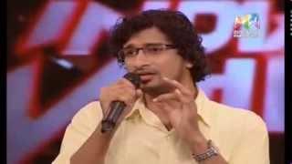 Melle Melle Mukhapadam Amazing performance by Sreeraj