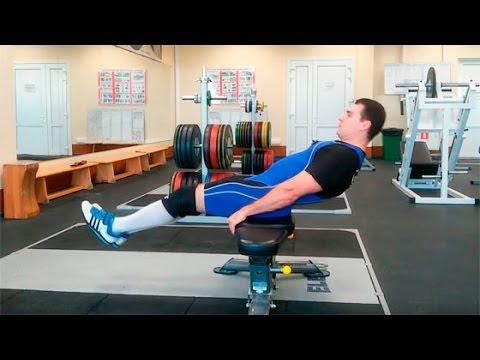 Подъём ног сидя: техника выполнения