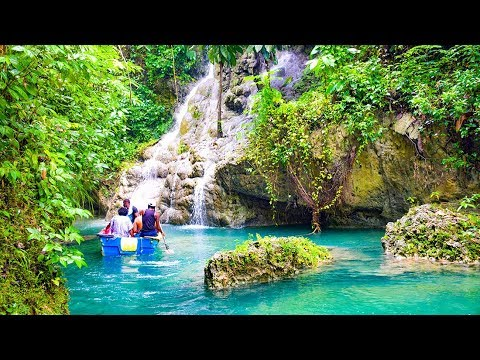 Port Antonio Portland Jamaica Blue Lagoon Somerset Falls Frenchman's Cove